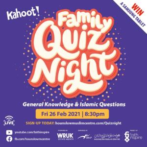 Family quiz night
