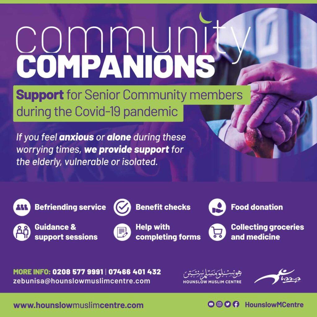 Community companions poster